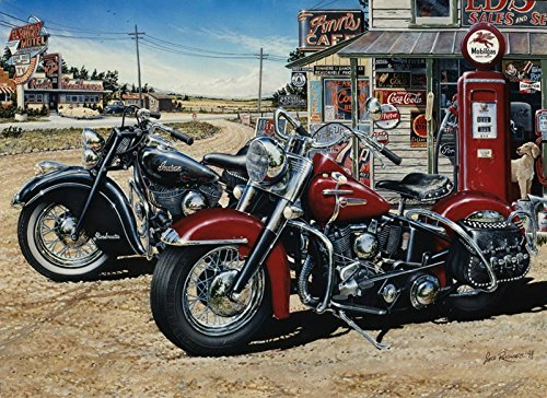 1000 Piece Motorcycle Jigsaw Puzzle