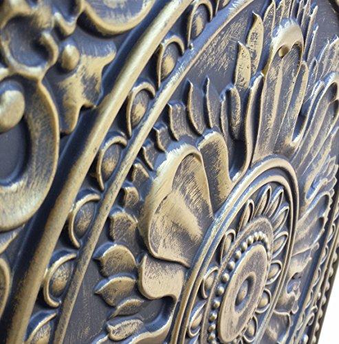 PL17en étain plafond 3D Dalles Antique or gris gaufrage Café Pub Shop Art Décoration murale panneaux 10pieces/Lot