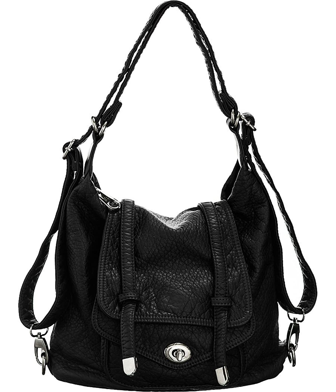 Handbag Backpack Convertible Backpack-convertible