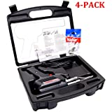 D550PK 260-Watt/200W Professional Soldering Gun Kit with Three Tips and Solder in Carrying Case (Original Version, 4-Pack) (Color: Original Version, 4-Pack)