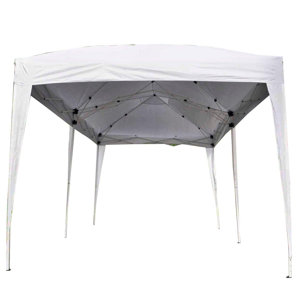 Giantex 10'x20' Ez POP up Wedding Party Tent Folding Gazebo Beach Canopy W/carry Bag