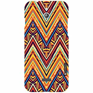Infocus M2 Back Cover - Silicon Triangled Print Designer Cases
