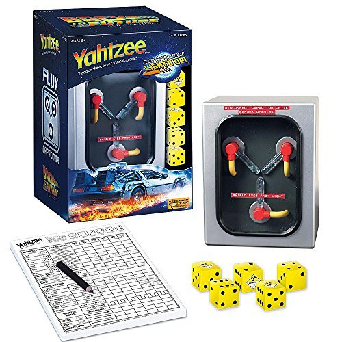 Yahtzee Back to the Future Collector's Edition - Flux Capacitor