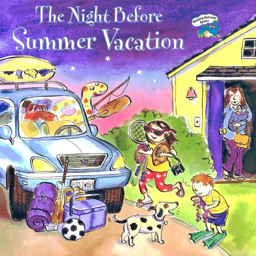 Night Before Summer Vacation (Reading Railroad Books)