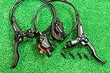 シマノ(SHIMANO)油圧 ディスクブレーキ BL-M445 BR-M446 ローター無セット ブラック 自転車パーツ