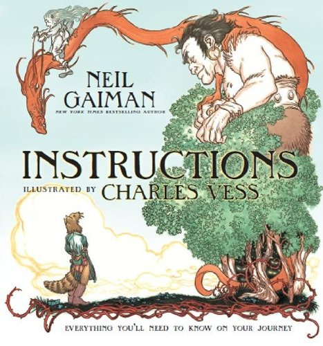 Kids on Fire: Neil Gaiman's Instructions Comes To Kindle