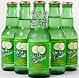 Mr. Q. Cumber Sparkling Beverage - 7oz Bottles (Pack of 24)