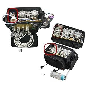 Portable- Unit with Air -Compressor -Suction -System [3 WAY] (Black) (Color: Black)
