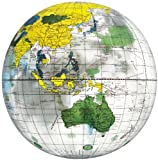 地球儀ボール クリア 40cm