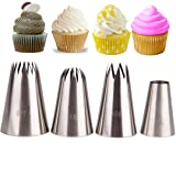 Meao Piping Tips Set (Silver #4) (Color: Silver #4)