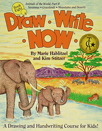 Draw Write Now Book 8: Animals of the World Part II: Grassland and Desert Animals PDF
