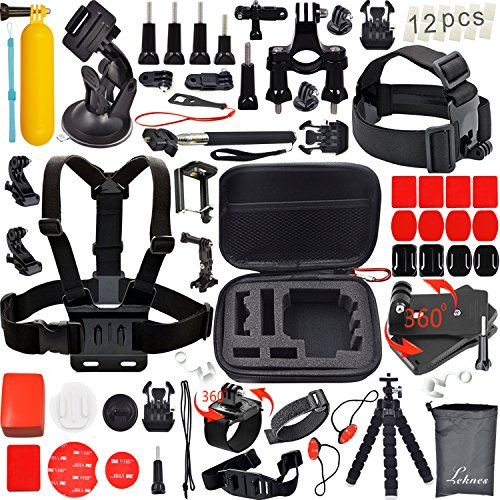 leknes-outdoor-sports-essentials-kit-for-sj4000-sj5000-and-gopro-hero-4-3-3-2-1-in-parachuting-divin