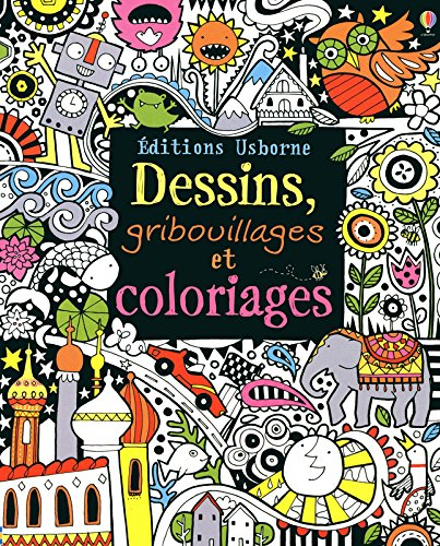 Dessins, gribouillages et coloriages