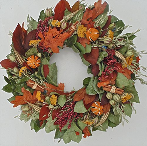 Fall Cinnamon and Berry Wreath 22