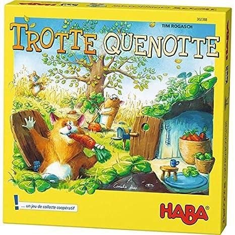 Haba - Trotte Quenotte - Bois,Carton - 302388
