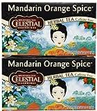 Celestial Seasonings Mandarin Orange Spice Herb Tea, 20 bags
