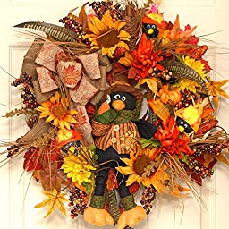 Counting Crows Fall Wreath
