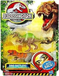 Hasbro 1 X Jurassic Park Dino Battlers Spinosaurus vs. Tyrannosaurus Rex