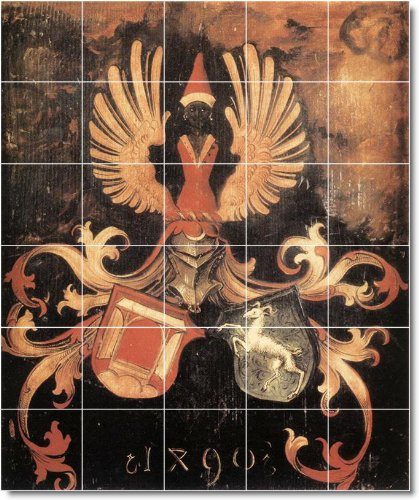 Zementfliesen F?r Dusche Geeignet : Albrecht D?rer historischen Badezimmer Fliesen Wand 9. 152,4 x 182,9
