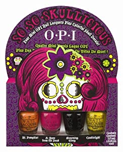 OPI - SO SO Skullicious 4 Mini Bottles Set