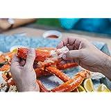 Alaskan King Crab: Giant Red King Crab Legs (10 LBS) - Overnight Shipping Monday-Thursday (Tamaño: 10 LBS)