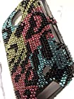 Shockwize (Tm) Diamas Series Samsung Galaxy Proclaim S720C & Samsung Illusion i110 Diamond Bling Skin Shell Armor Protector Cover Case Shock Absorbing Rigid Hybrid (Straight Talk, Verizon) S720C i110 (Bling Leopard Colorful)