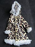 6 Colours to choose from: Barbie Sindy Doll Sized Clothing Cute Faux Fur Winter Hooded Coat posted from London By Fat-catz-copy-catz (Dolls Leopard Hooded Coat)