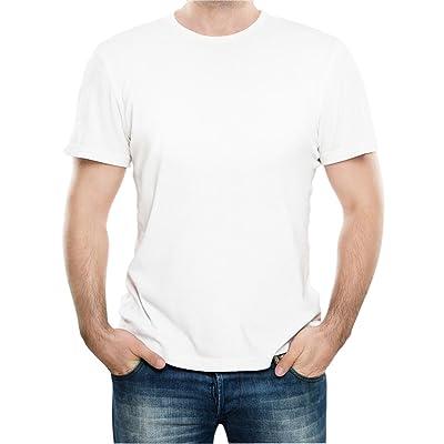 [Macoking] 男女兼用 Tシャツ カットソー 吸汗速乾 無地 ベーシック クルーネック 半袖 丸首 厚手 6.2oz 綿100% コットン シンプル 重ね着要員 スポーツウェア インナー 8色展開