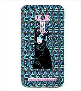 PrintDhaba Random Image D-4555 Back Case Cover for ASUS ZENFONE SELFIE ZD551KL (Multi-Coloured)
