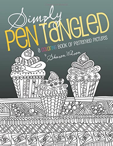 Simply Pen Tangled: A Coloring Book of Patterned Pictures