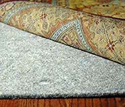 Durable Hand Surface and Carpet Rug Pad 5' x 8'