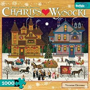 Charles Wysocki Victorian Christmas 1000-Piece Jigsaw Puzzle