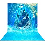Photography Backdrop - Frozen Rendezvous 3D - 10x20 Ft. - 100% Seamless Polyester