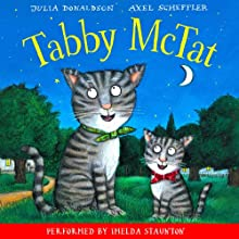Tabby McTat Audiobook by Julia Donaldson Narrated by Imelda Staunton