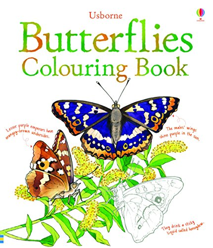 Butterflies to Colour (Nature Colouring Books)
