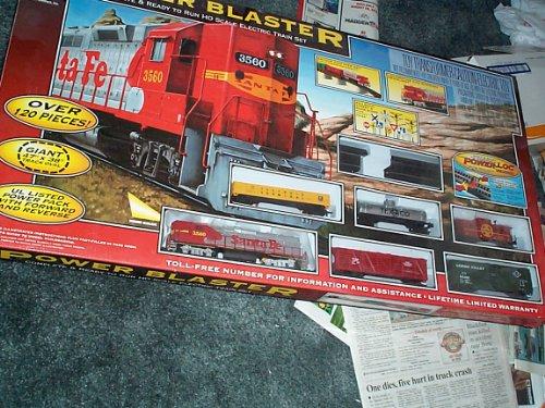 Life-like Trains Power Blaster Train Set