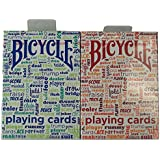 Bicycle Table Talk Playing Cards