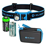 EdisonBright Olight H1 500 Lumen CREE LED headlamp/Utility Pocket lamp CR123A Lithium Battery
