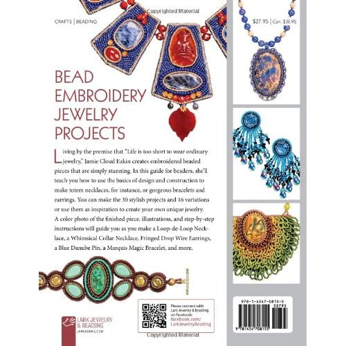 Bead embroidery jewelry projects design and construction