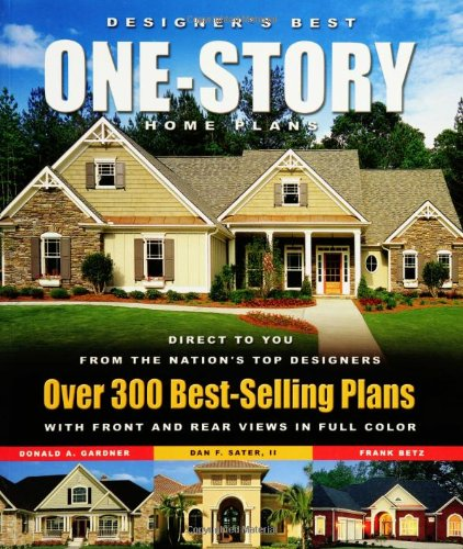 Top free books online designer 39 s best one story home for Top selling house plans