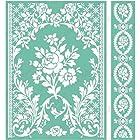 Cuttlebug 5X7 Embossing Folder/Border Set-Anna Griffin Rose Pavilion