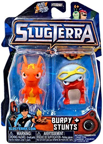 Slugterra SERIES 3 Mini Figure 2-Pack Burpy V2 & Stunts [Includes Code for Exclusive Game Items] by Slugterra Toys, Games & Dart Mini Action Figures bestellen