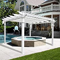 Big Sale New England Regency Vinyl Pergola