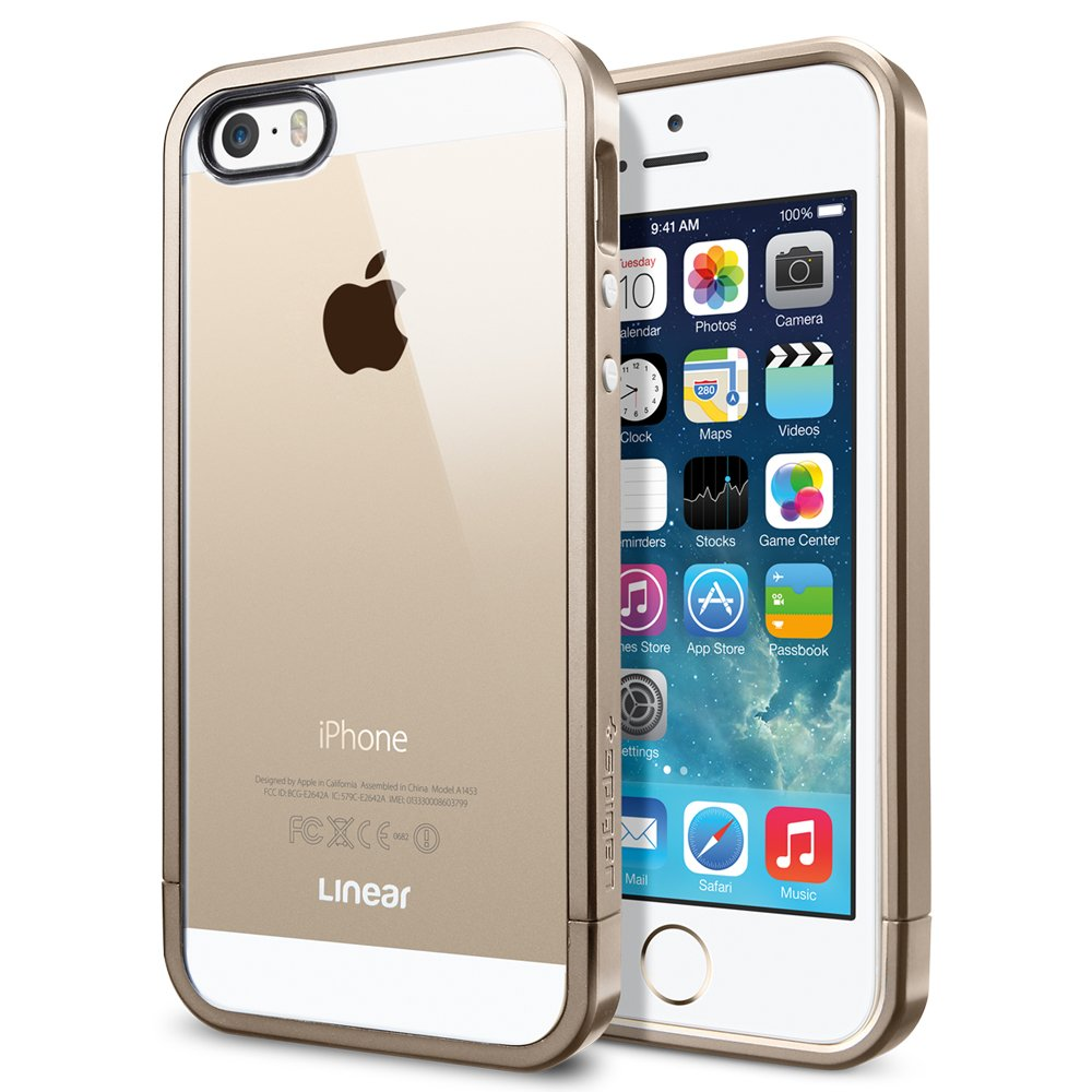 Clear Cases For Iphone 5s Gold Iphone 5s Case Spigen® Iphone