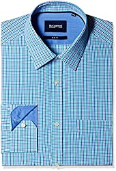 Blackberrys Men's Formal Shirt (8907196517928_MSCHC37MGDN10BPQ_44_Mint Green)