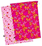 "Kushies ""On The Go"" 2-Pack Wet Bag, Large, Girl Prints"