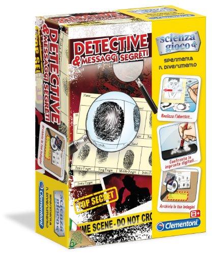 Clementoni 13847 - Sperimenta il Divertimento: Detective e Messaggi Segreti