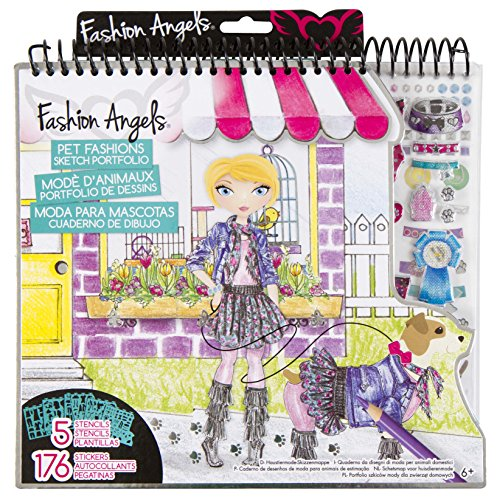 Fashion Angels Pet Lovers Fashion Full Size Sketch Portfolio - 1