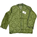 Field Jacket Liner, M-65, Olive Drab--Genuine Military Issue, X-Large - NSN:8415-00-782-2890 (Color: Olive Drab, Tamaño: X-Large)