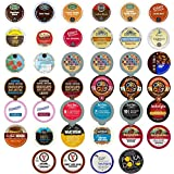 Coffee Single Serve Cups For Keurig K Cup Brewers Variety Pack Sampler (40 count)